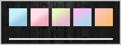 Free pastel gradients