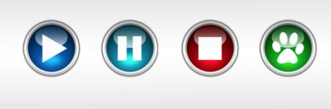 How to Make Glossy Buttons in Photoshop