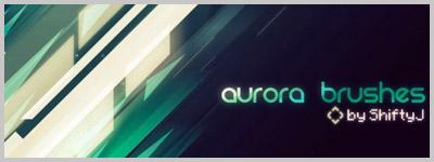 aurora vector brushes