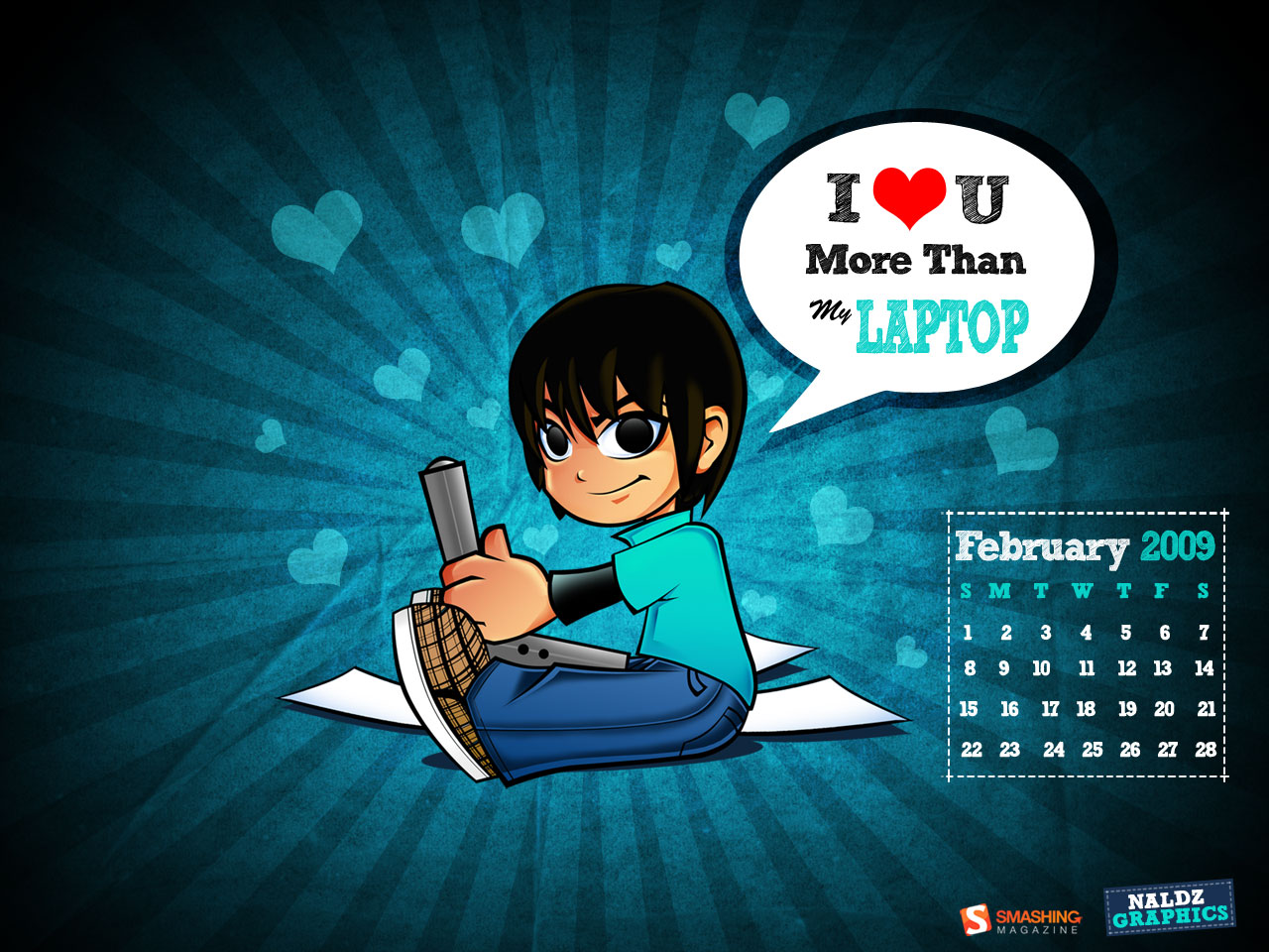 Naldz graphics february 2009 calendar naldz graphics for Naldz graphics