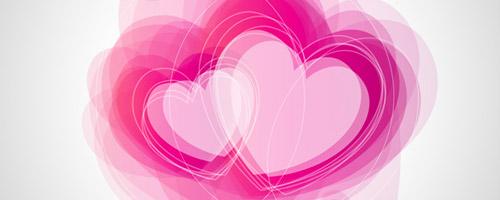 abstract tutorial valentine