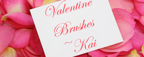free valentine brushes