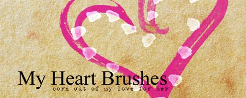 heart brushes free