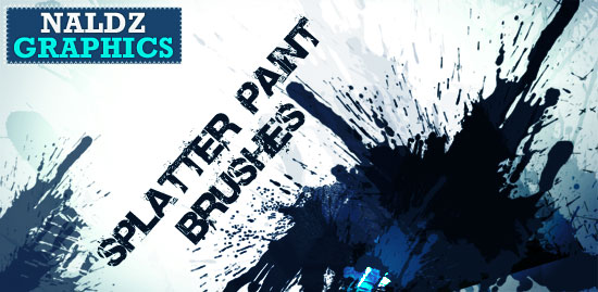 free splatter brushes photoshop