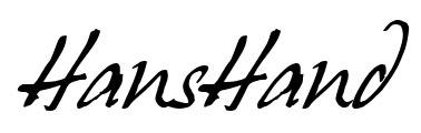 cursive hand drawn font