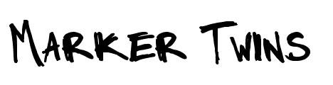 marker hand drawn fonts