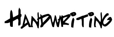 free hand writing fonts