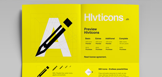 helveticons paper website