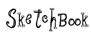 line hand drawn fonts