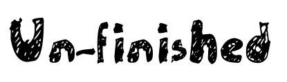 shady hand drawn fonts