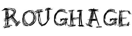 rough fonts free