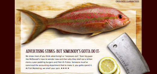 fish marketing paper websites