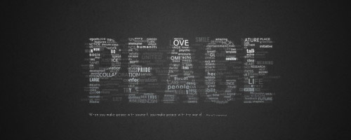 typographic wallpaper tutorial