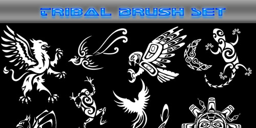 free tribal brushes