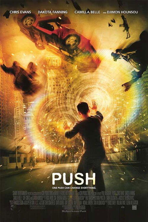 Plakat z filmu Push Movie poster