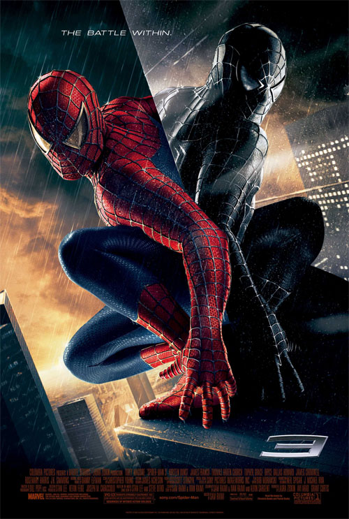 Plakat z filmu Spiderman 3 Movie poster
