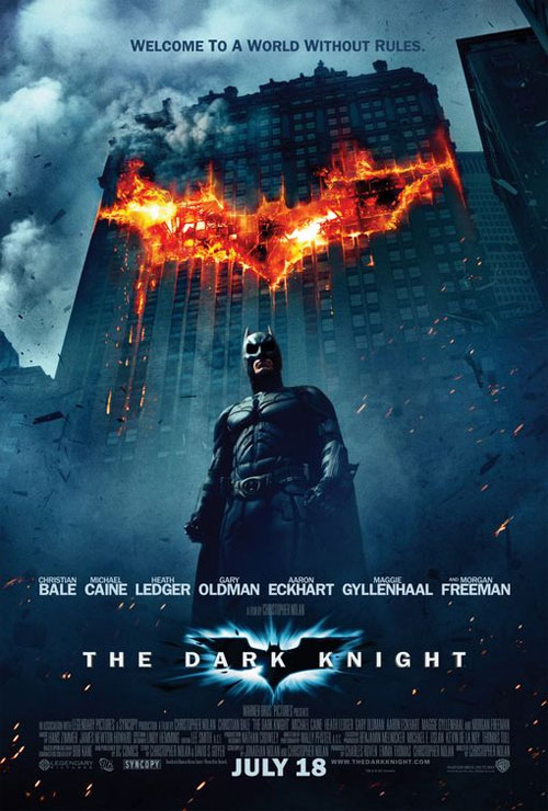 Plakat z filmu Batman: The Dark Knight Movie poster