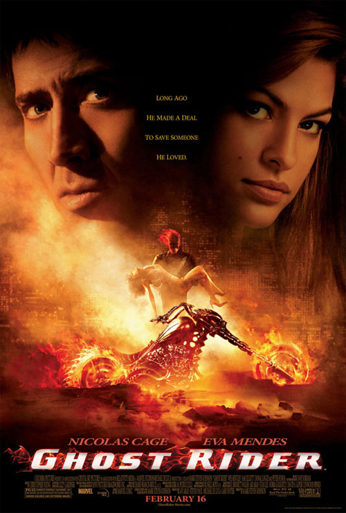 Plakat z filmu Ghost Rider Movie poster