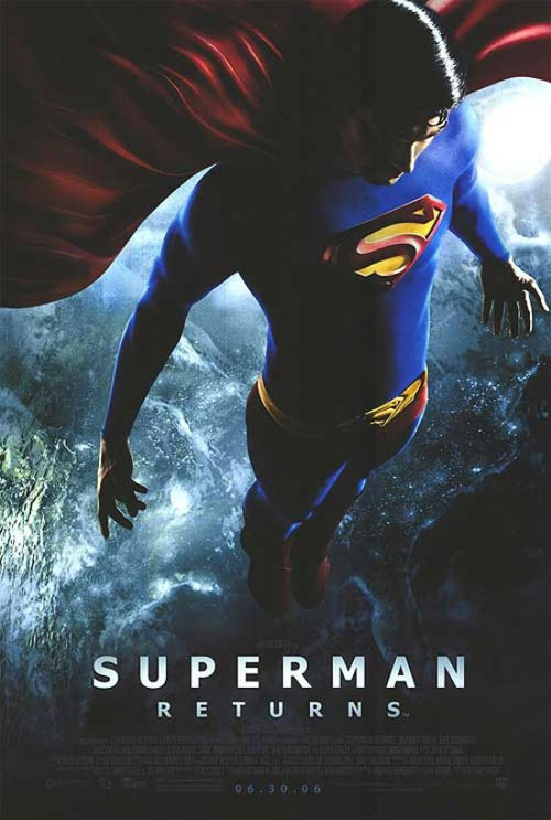 Plakat z filmu Superman Returns Movie poster