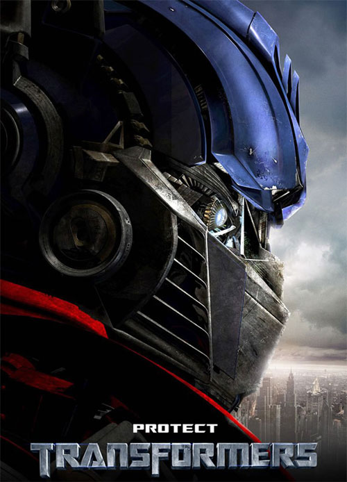 Plakat z filmu Transformers Protect Movie poster