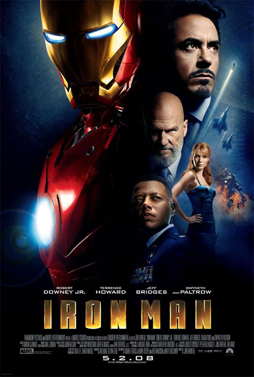 Plakat z filmu Iron Man Movie poster