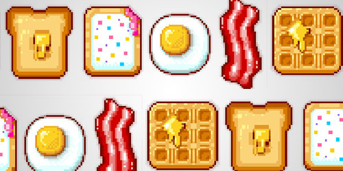food icons tutorial