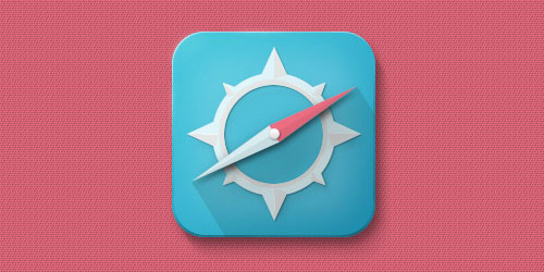 compass icon photoshop tutorial