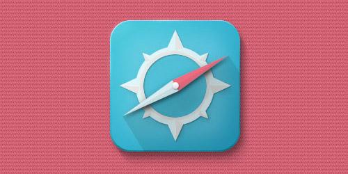 compass icon photoshop tutorial