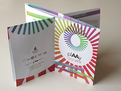 unique brochure designs