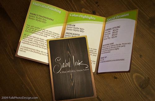 wood design brochure
