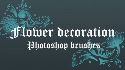 flower decoration brushes