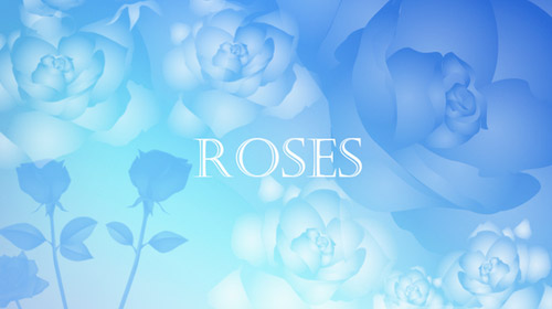 roses flora free brushes