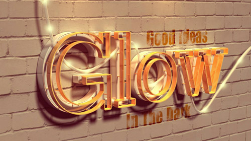 filter forge photoshop tutorial 3d text glowing