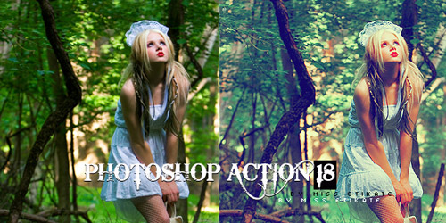 milky photoshop action