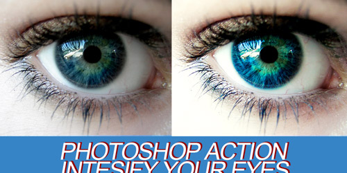 eye photoshop action