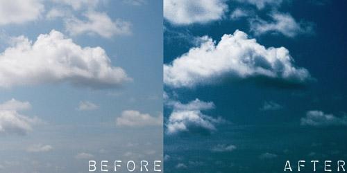 sky photoshop action
