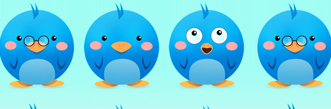 Free Icons: 6 Adorable Twitter Icon Pack