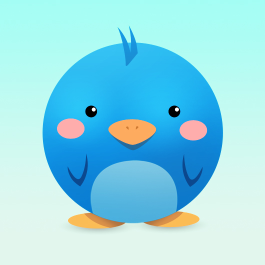 Cute Twitter Icon