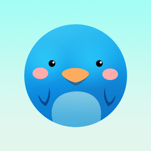 Cute Twitter Icon Tutorial