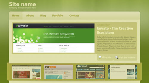 33 Newly Fresh Web Design Layout Tutorials Naldz Graphics
