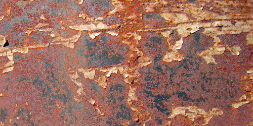 unrestricted rusted texture