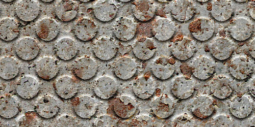 dotted rusted texture