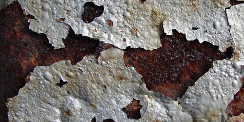 cracked metal rust texture