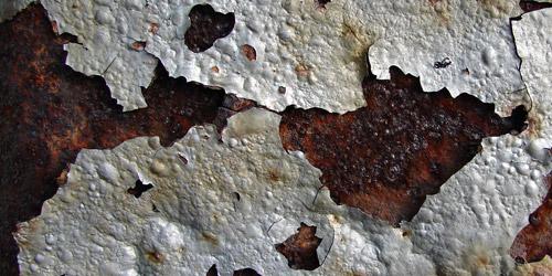 cracked metal rust texture