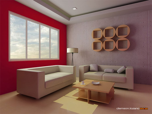 40 excellent examples of interior designs rendered in 3d for Decoration 3ds max