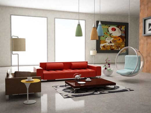40 Excellent Examples of Interior Designs Rendered in 3D Max Naldz