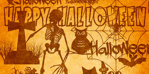 Halloween photoshop brushes