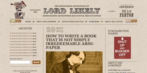 lord likely vintage website