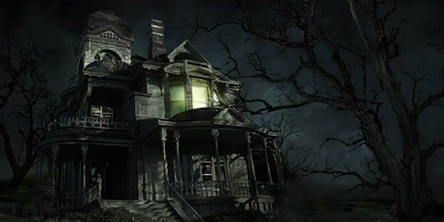 sinister house photoshop tutorial