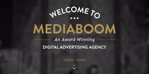 mediaboom vintage web design